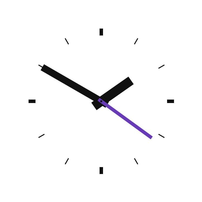 PURE CSS - CLOCK